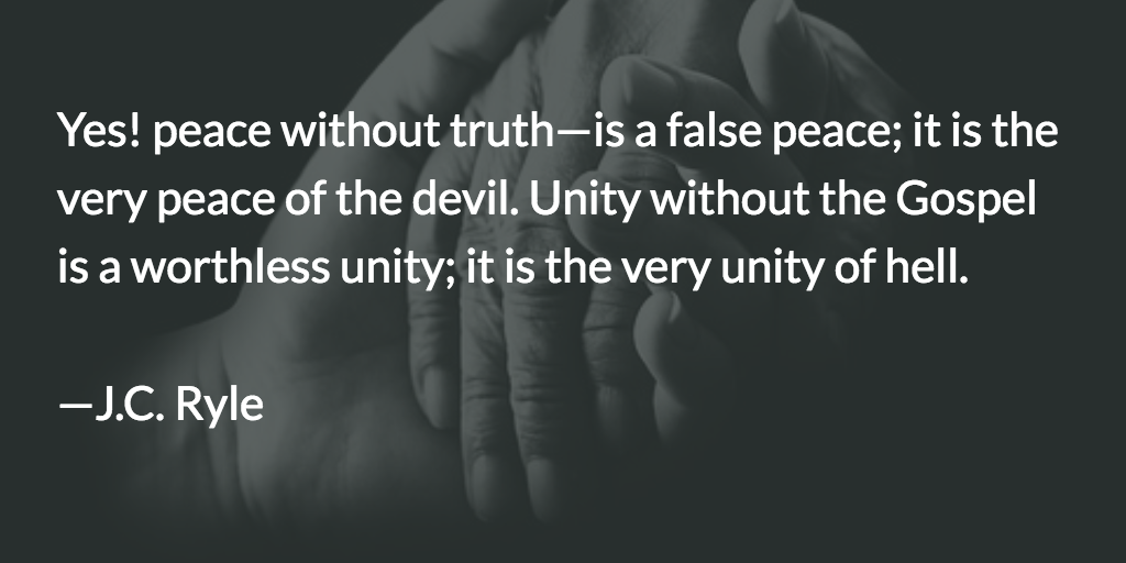 Peace and Unity — Ryle